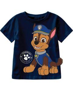 T-shirt, Paw Patrol - Chase - Navy - Name it.