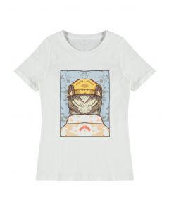 T-shirt, Dace - Hvid - LMTD