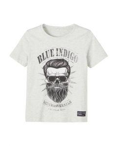 T-shirt, Bassol - Grå - Name It