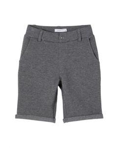 Shorts, Chino Sweat - Mørke Grå - Name It