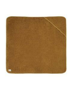 Håndklæde m. hætte - Golden brown - Lil' Atelier