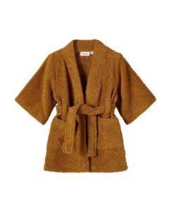 Badekåbe - Golden brown - Lil' Atelier