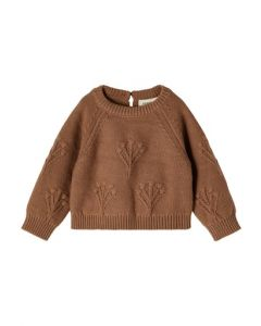 Sweater, Strik, Rubina - Woodsmoke - Lil´Atelier
