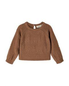 Sweater, strik - Rubina, midi - Woodsmoke - Lil' Atelier
