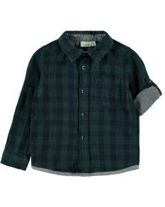Skjorte, Tern - Grøn - Dreng - Name It
