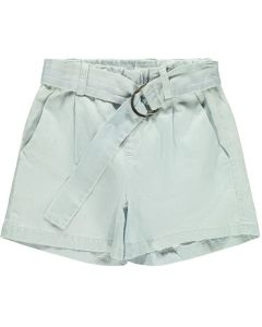 Shorts m. bælte - Lys denim - Name it.