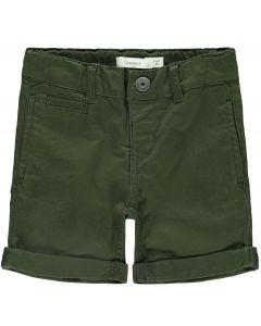 Shorts - Army grønne - Dreng - Name  it.
