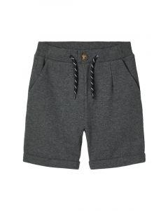 Shorts, Sweat - Mørkegrå - Name It
