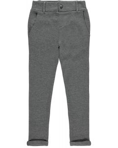 Chino, sweat bukser - Dark grey melange - Name it.