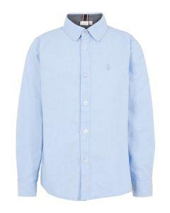 Skjorte - Lys blå - Dreng - Name it.