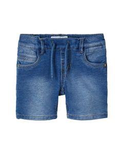 Shorts, bløde sweat - Denim - Unisex - Name it.