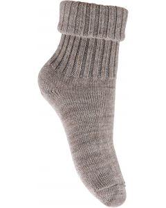 Uld sokker - brun - Unisex - Melton
