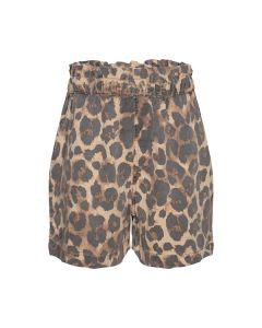 Shorts - Leopard - Brun - Sofie Schnoor Girls