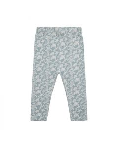 Leggings, Skildpadde - Dusty Blue - Petit by Sofie Schnoor