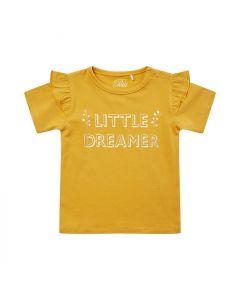 T-shirt, Dreamer - Mustard - Petit by Sofie Schnoor