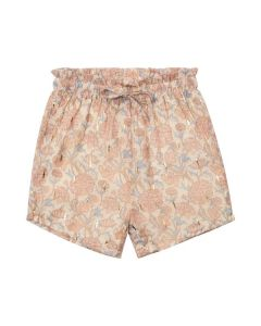 Shorts - Blomster - Light rose, guld - Petit by Sofie Schnoor.