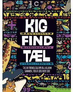 Opgavebog, Kig, Find, Tæl - Dyreliv - Colours By CPH