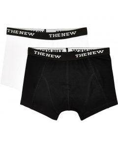 Boxers 2 pk. - Hvid/Sort - Dreng - The New