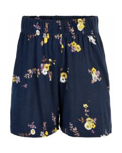 Shorts, Paula - Navy m. blomster - Pige - The New