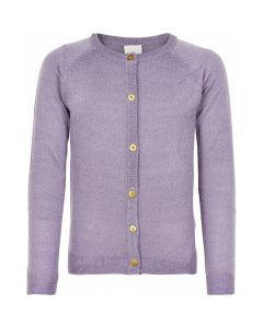 Cardigan, Glimmer - Lavendel - Pige - The New