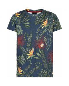 T-shirt, Paz - Blomster - Dreng - The New