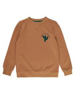 Sweatshirt, Tobias - kaktus - Brun - The New