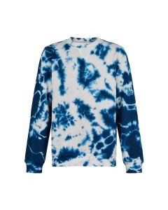 Sweat bluse, Tabi - Tie dye - The New