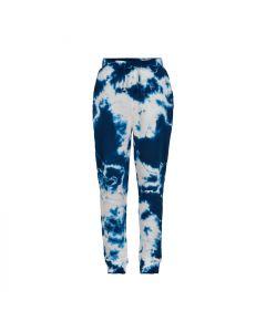 Sweat bukser, Tabi - Tie Dye blå - The New