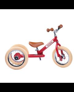 Løbecykel, 3 hjul, Vintage rød - Trybike