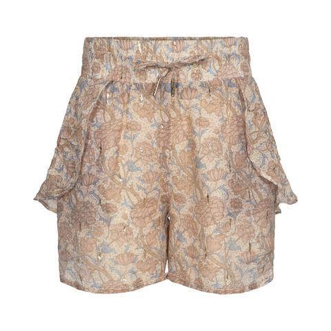 Shorts, Blomster - Light Rose - Sofie Schnoor Girls